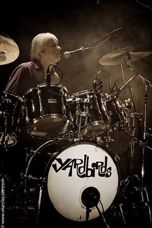 Jim drumming Yardbirds
